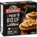 Charal Patat'O bœuf recette à la Montagnarde les 4 pièces de 120 g