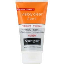 Soin 2-en-1 nettoyant et masque Visibly Clear