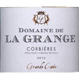 Domaine de la Grange, Corbières, vin rouge, 2015
