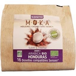 Capsules de café arabica Honduras BIO, subtil & Intense