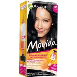 Movida, Soin crème colorant Noir n°55, sans ammoniaq...