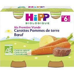 Ma Première Viande - Carotte pomme de terre bœuf BIO...