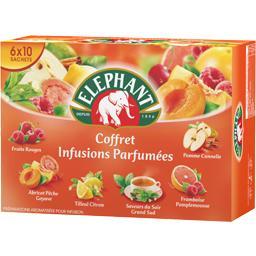 Coffret infusions parfumées