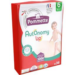 Autonomy Up - Couches taille 6 : 16+kg