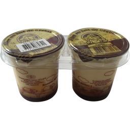Bergerie De Baizenas - Flan au lait de brebis vanille nappage caramel,INTERMARCHE,Les 2 pots de 125 gr