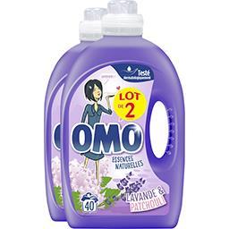 Omo Perles de Parfum - Lessive liquide Douceur de fleurs...