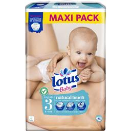 Couches Touch taille 3, 4-9 kg