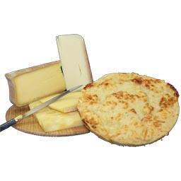Flamiche 4 fromages savoyards lardons oignons