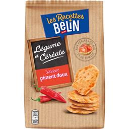 Belin Crackers Les Recettes aux tomates saveur piment doux le paquet de 100 g