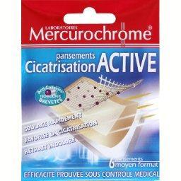 Pansements cicatrisation active, moyen format, acti-colloïdes