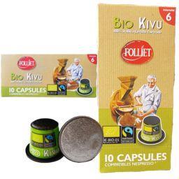 Capsules de café Kivu BIO