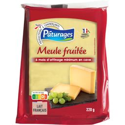 Pâturages Meule fruitée le paquet de 220 g