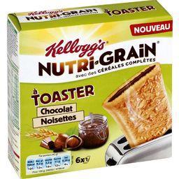 Chaussons aux céréales chocolat noisettes à toaster