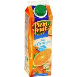 Jus d'orange sans pulpe