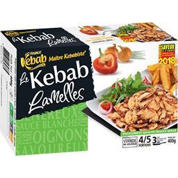 Le Kebab lamelles
