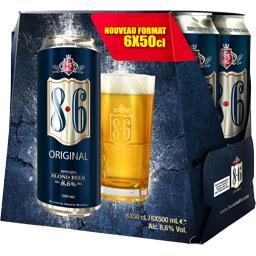 Bière blonde 8,6 Original