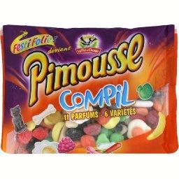 Pimousse complil, bonbons