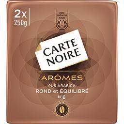 Café moulu Arômes pur arabica N°6