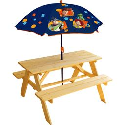 Table pique nique + parasol Toy Story 4