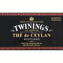 Thé de Ceylan Scotland thés noirs des hauts plateaux...