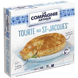Tourte St-Jacques La Compagnie Artique