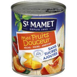 Mélange de 3 fruits Mes Fruits Douceur sans sucres a...