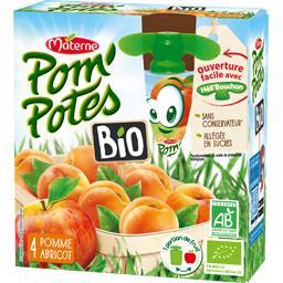 Pom'Potes BIO - Spécialité de fruits pomme abricot B...