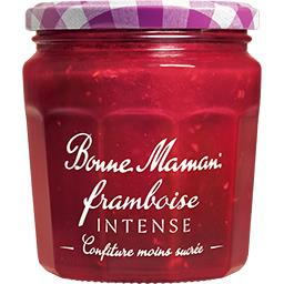 Confiture framboise intense