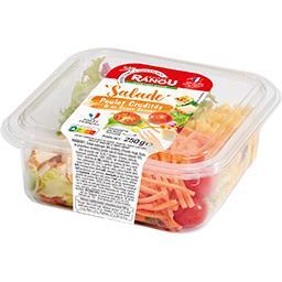 La Salade poulet crudités