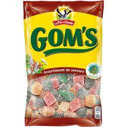 Bonbons Gom's assortiment de saveurs