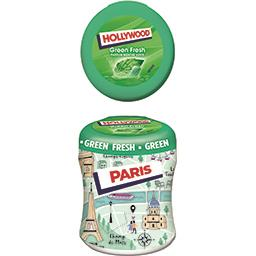 Hollywood Chewing-gum Green Fresh parfum menthe verte sans suc...