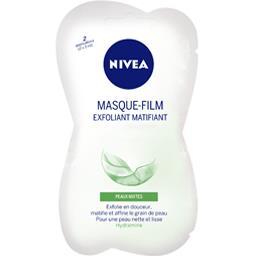 Nivea Visage - Masque-film exfoliant matifiant, peaux mixt...