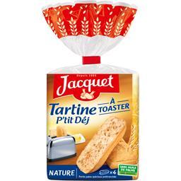 Tartine P'tit Déj à toaster nature
