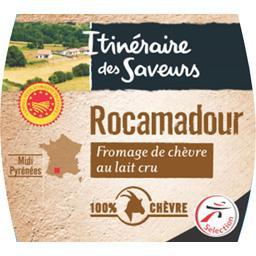 Rocamadour AOP, fromage de chèvre au lait cru