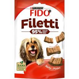 Friandises Filetti au poulet bœuf porc pour chiens