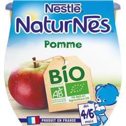 Dessert pomme BIO, dès 4/6 mois