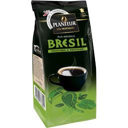 Sélection Brésil, café moulu pur arabica