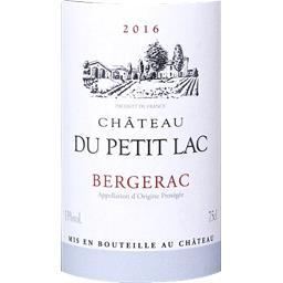 Bergerac Château du Petit Lac vin Rouge 2016