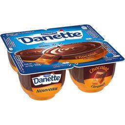 Danette - Crème dessert chocolat caramel