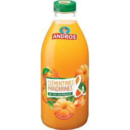 100% pur jus de clémentines & mandarines pressées