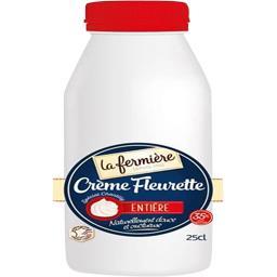Crème fleurette entière 35% MG