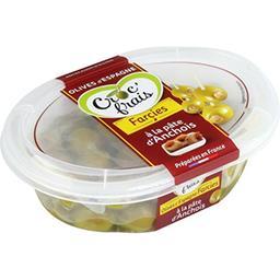Croc' frais Olives farcies à la pâte d'anchois, doux