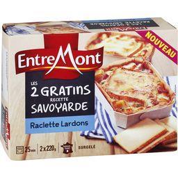 Les 2 gratins recette savoyarde, fromage à raclette