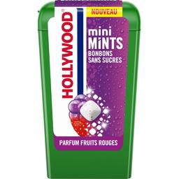 Hollywood Bonbons Mini Mints sans sucres parfum fruits rouges