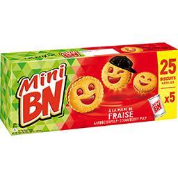 Mini - Biscuits fourrés goût fraise