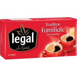 Legal Café Tradition Familiale goût équilibré