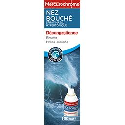 Spray nasal hypertonique Nez Bouché