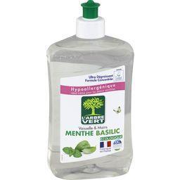 Liquide vaisselle & mains concentré menthe basilic