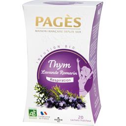 PAGES Infusion Thym Lavande Romarin