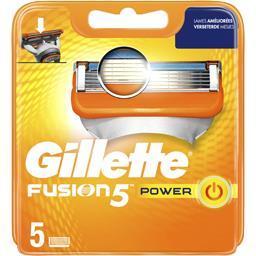Gillette Fusion5 power lames de rasoir pour homme 5recharges